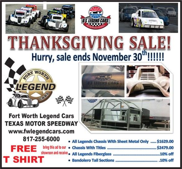 Fort Worth Legend Cars Blog